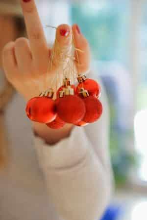 Christbaumkugeln aufbewahren
