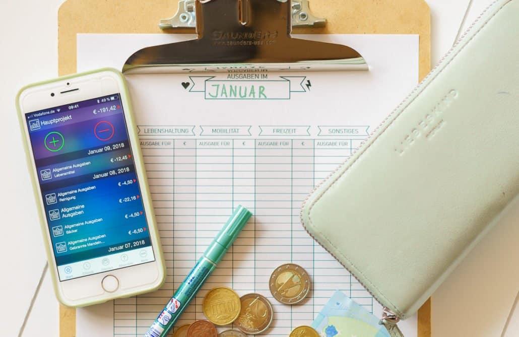 Das Haushaltsbudget – was ich mache, um den Überblick über Einnahmen und Ausgaben zu behalten