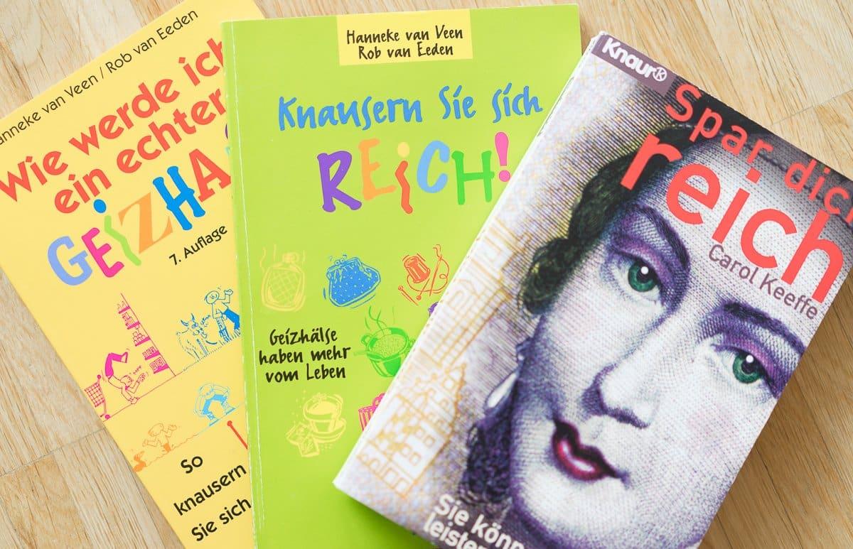 Bücher übers Sparen