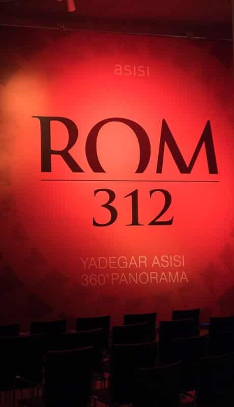 Rom 312 - Ausflugsziel Gasometer Pforzheim - Panorama Ausstellung - Blog Tagaustagein untewegs