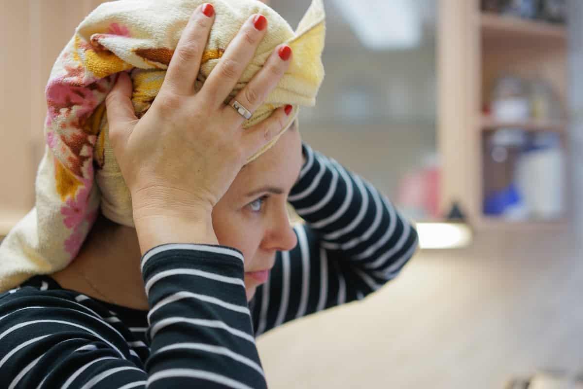 Haare waschen - 12 von 12