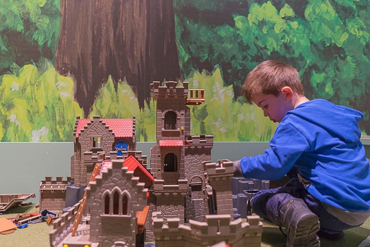 Spielecke im Jungen Schloss