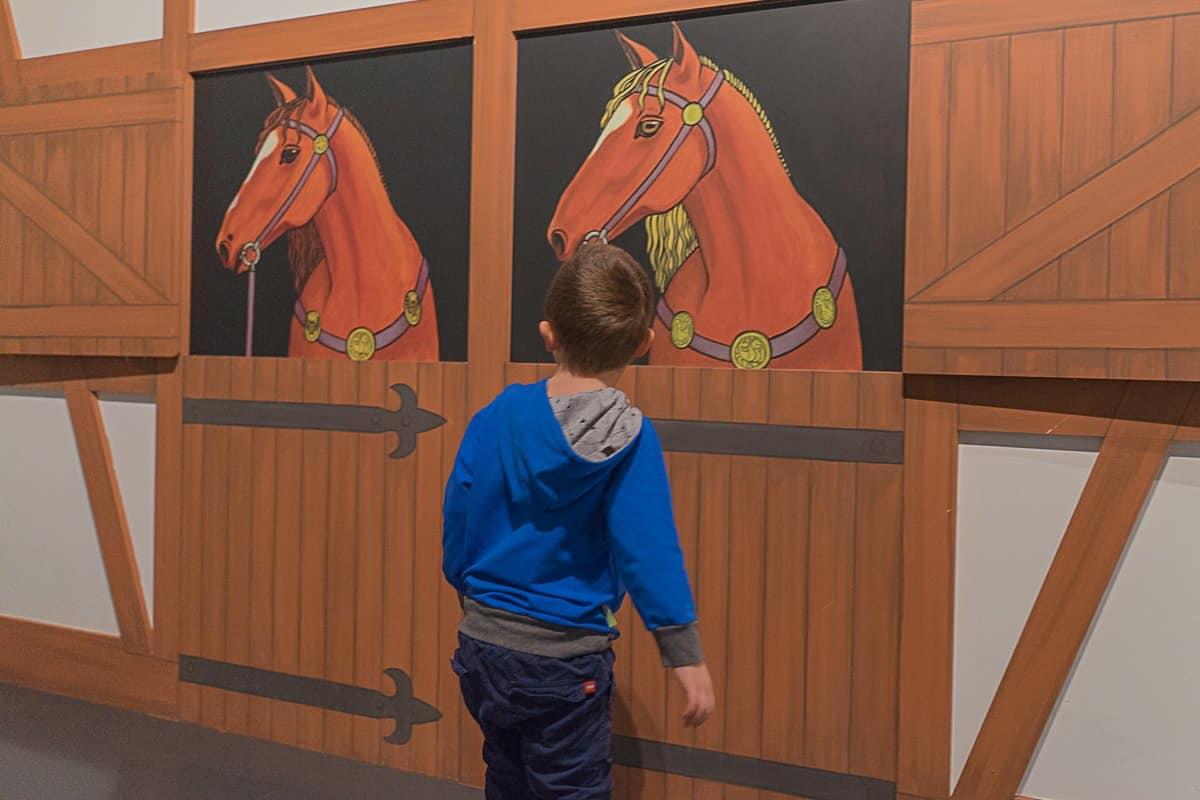 Pferdestall auf der Burg
