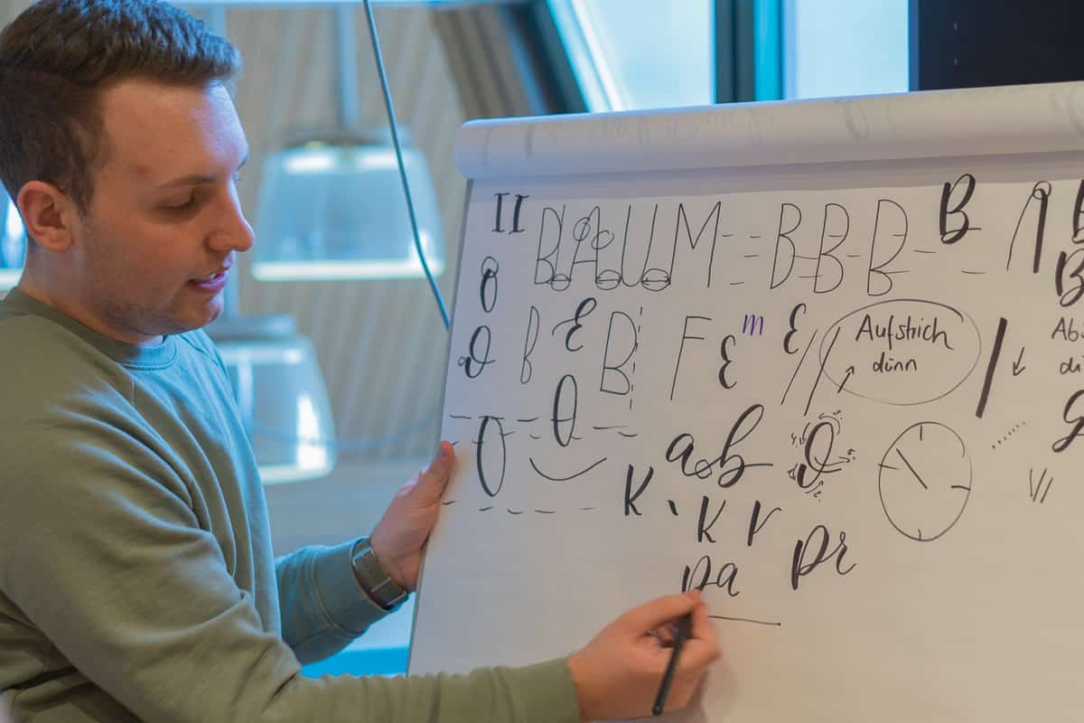 Workshop Hand Lettering Herr Letter