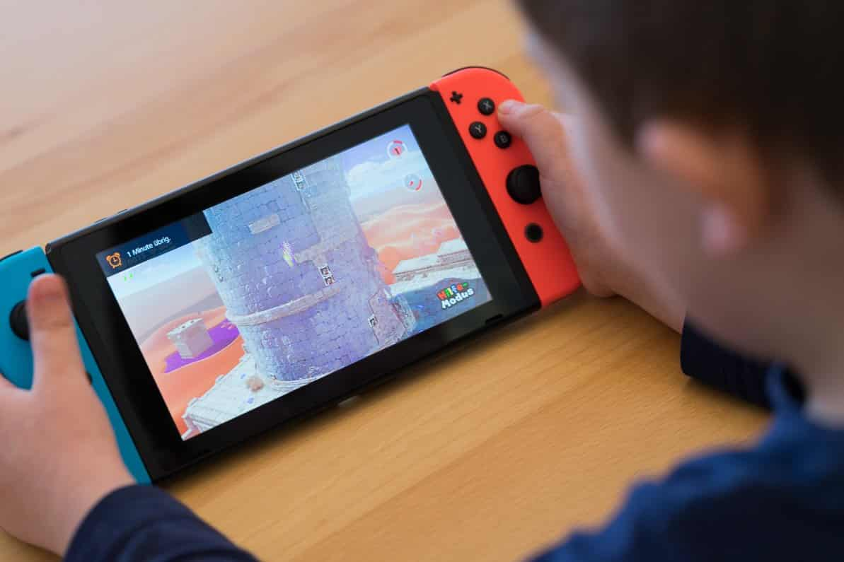 Nintendo Switch Handheld Modus