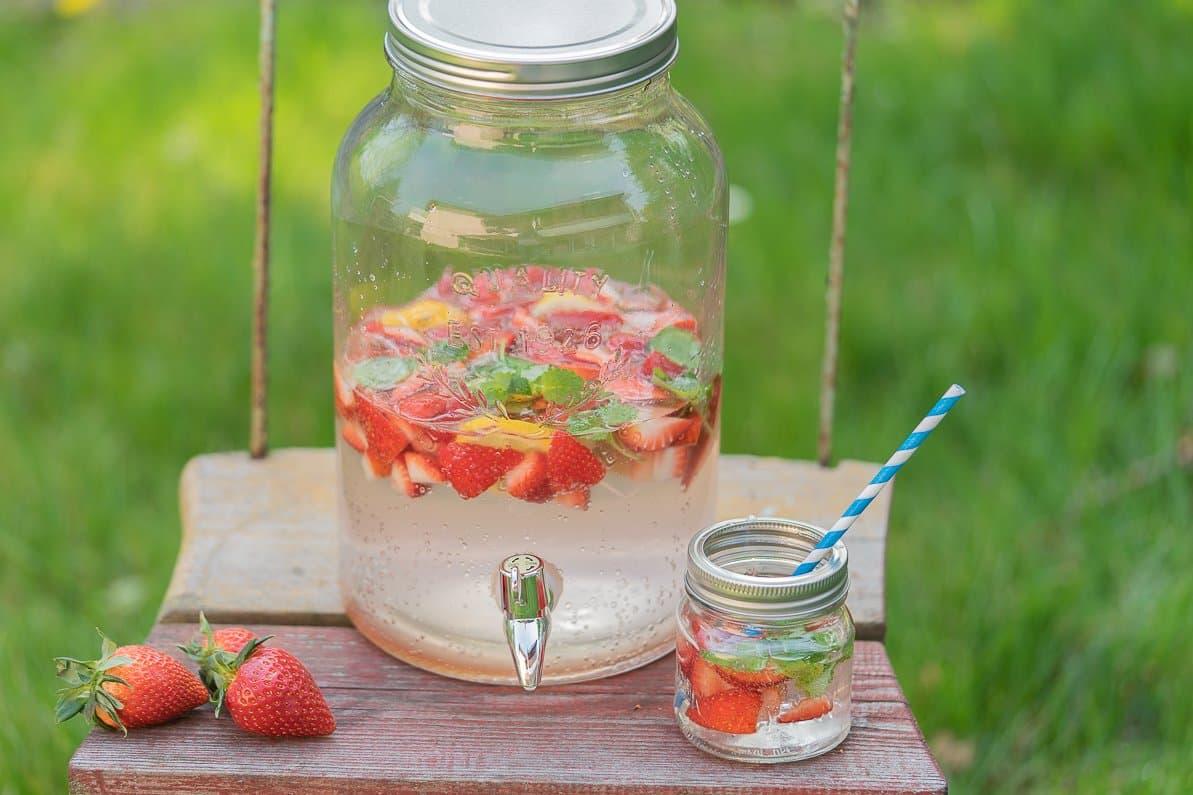 Rezept Erdbeerlimonade