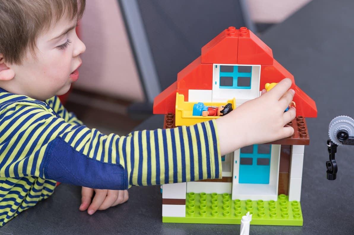 Spielen mit Lego duplo Bauernhof