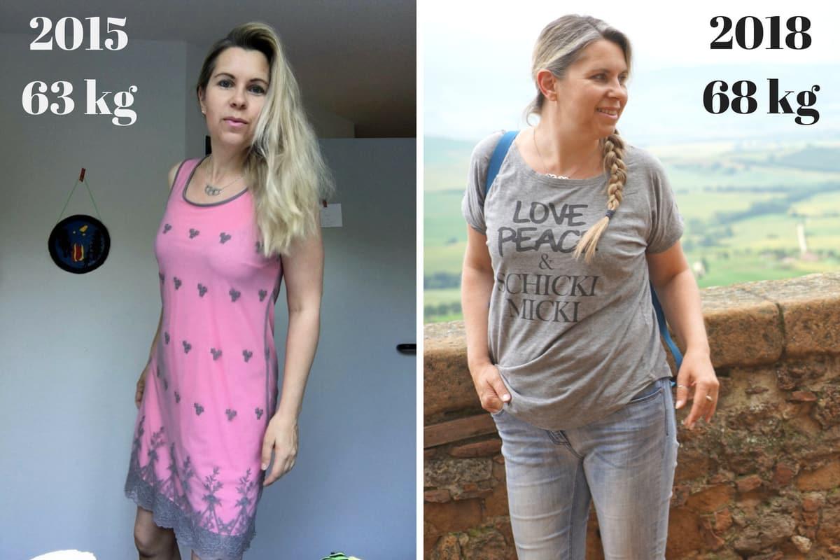 Gewichtszunahme Wechseljahre