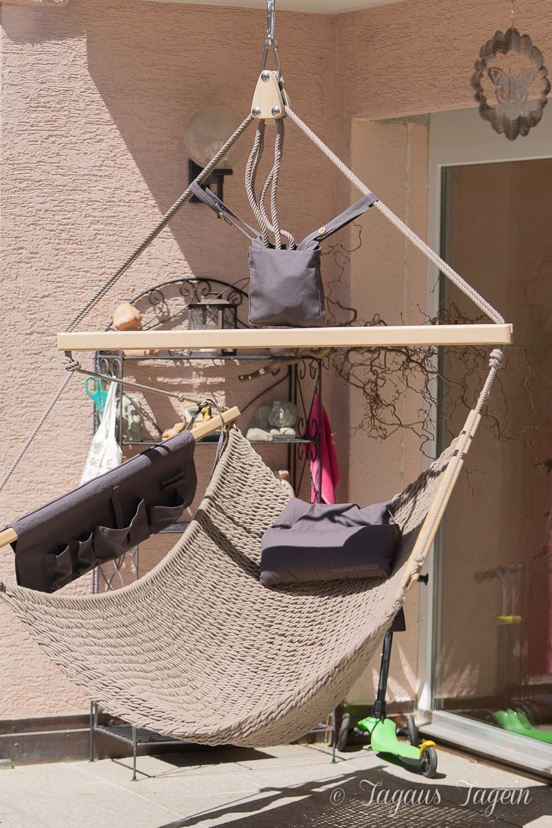 Traumschwinger auf der Terrasse