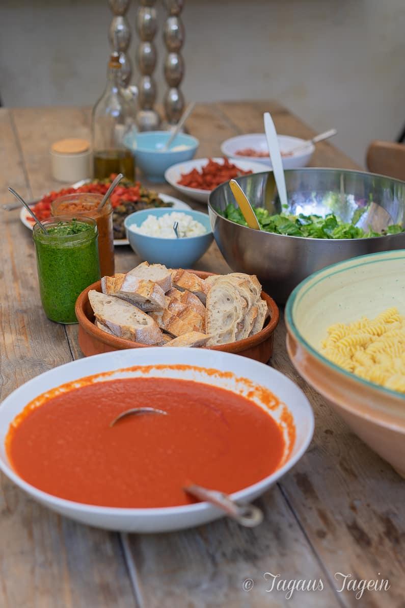 cremige Tomatensoße