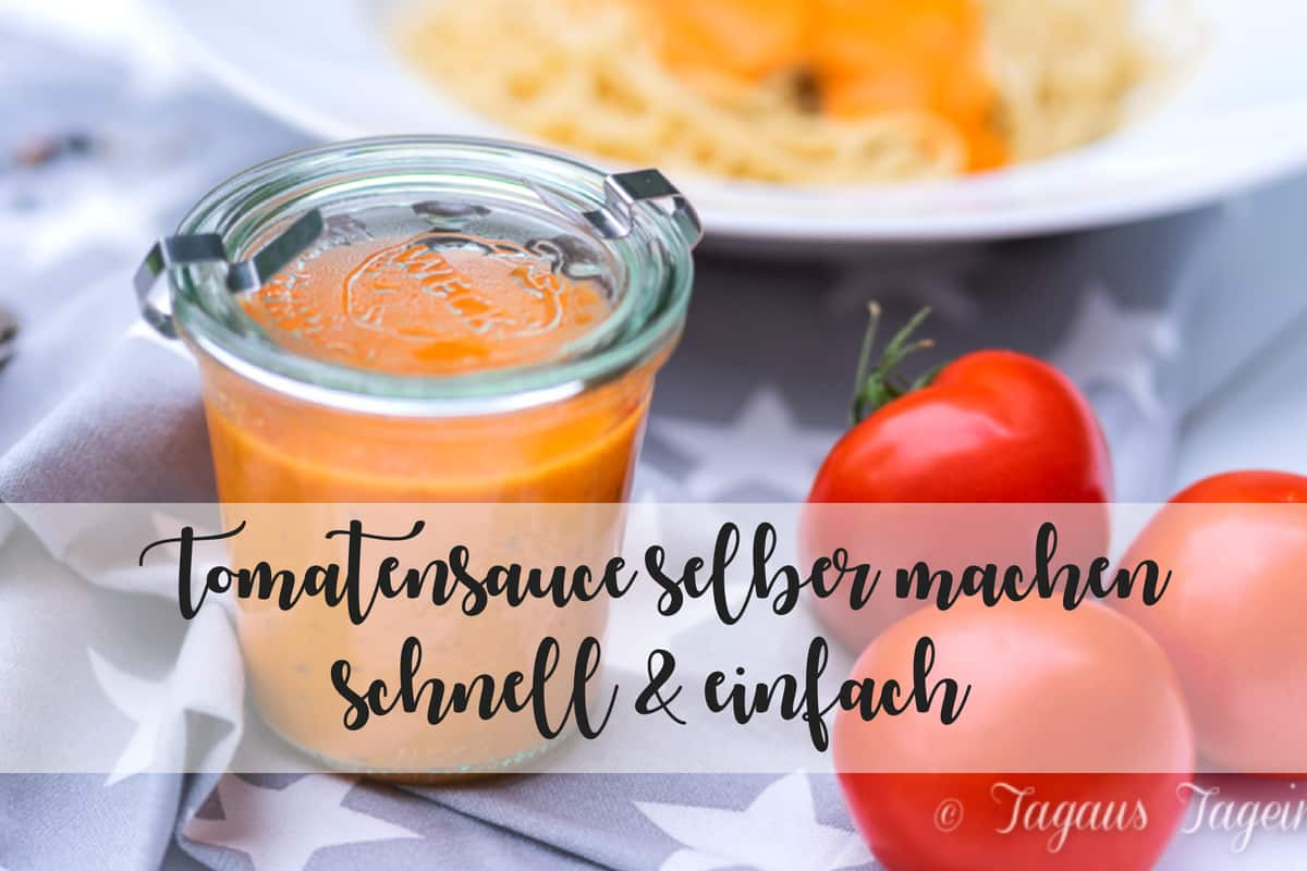 Tomatensauce selber machen