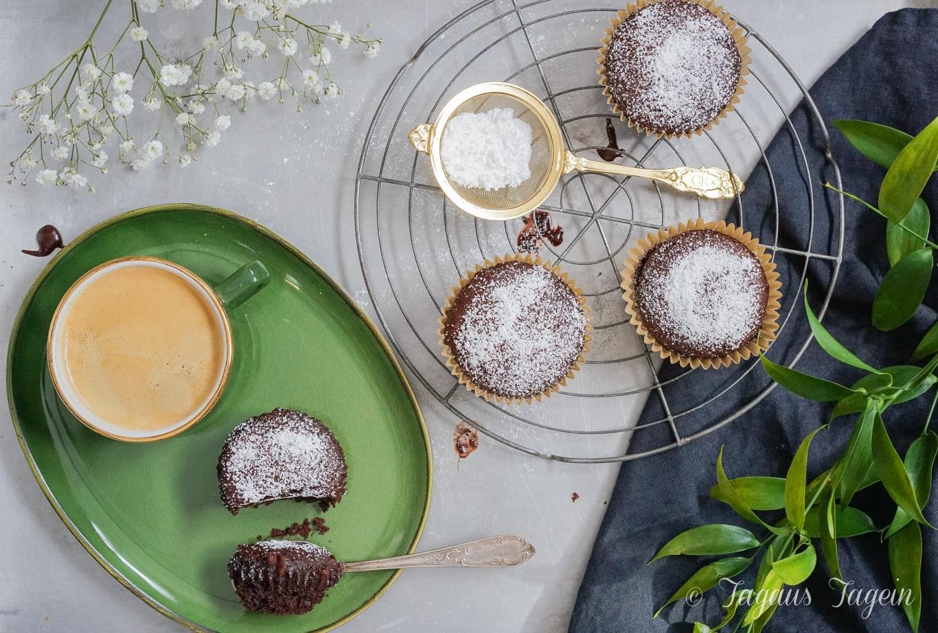 Vegane Schokomuffins – schnelle Crazy Wacky Schoko Muffins