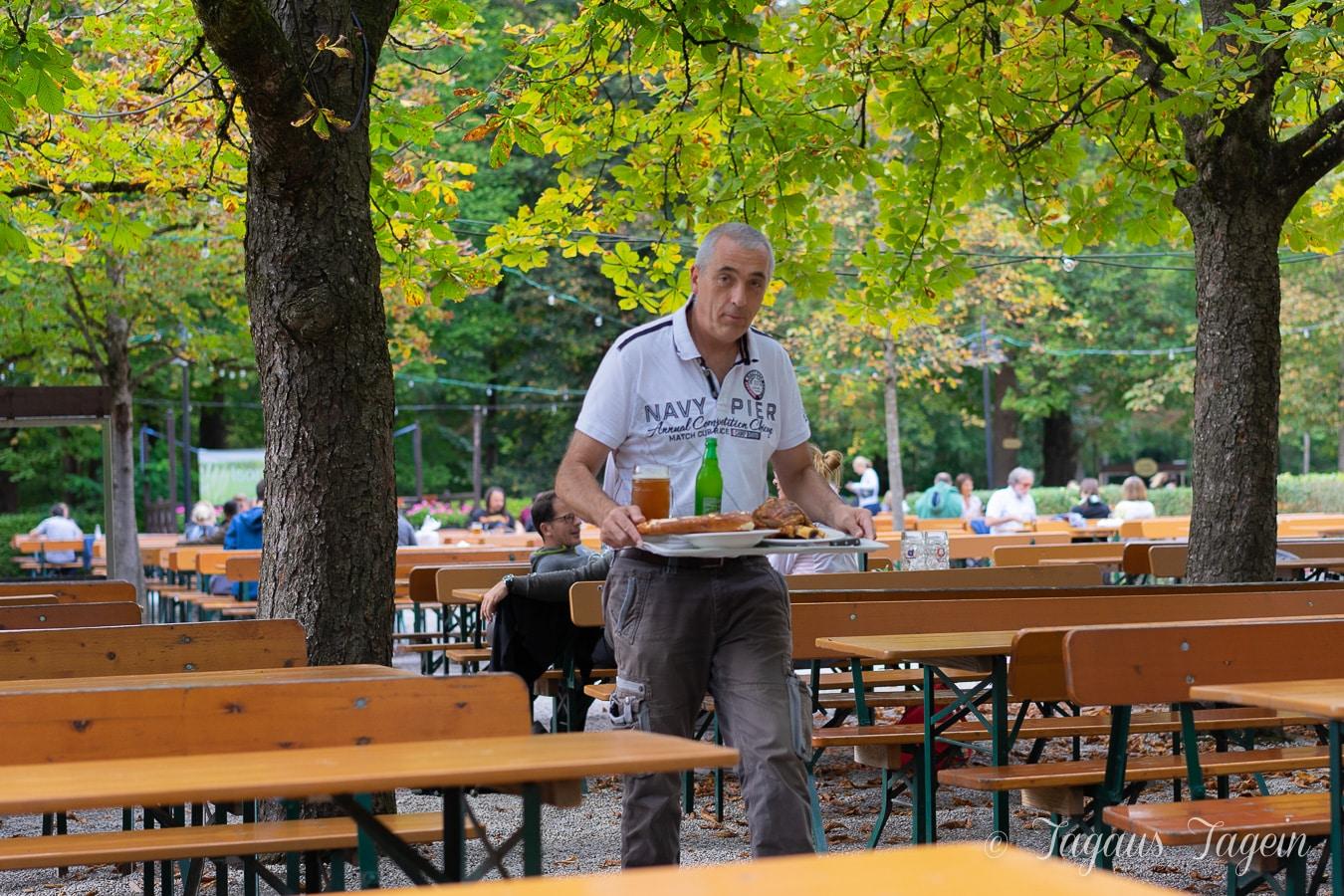 Mit dem Wohnmobil nach München – mit Biergarten & Haxen