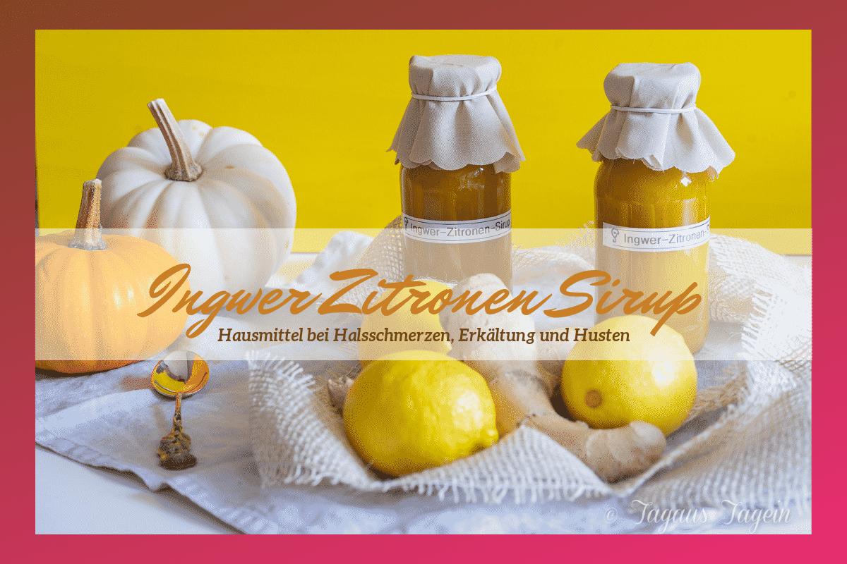 Ingwer Zitronen Sirup - Thermomix® Rezept