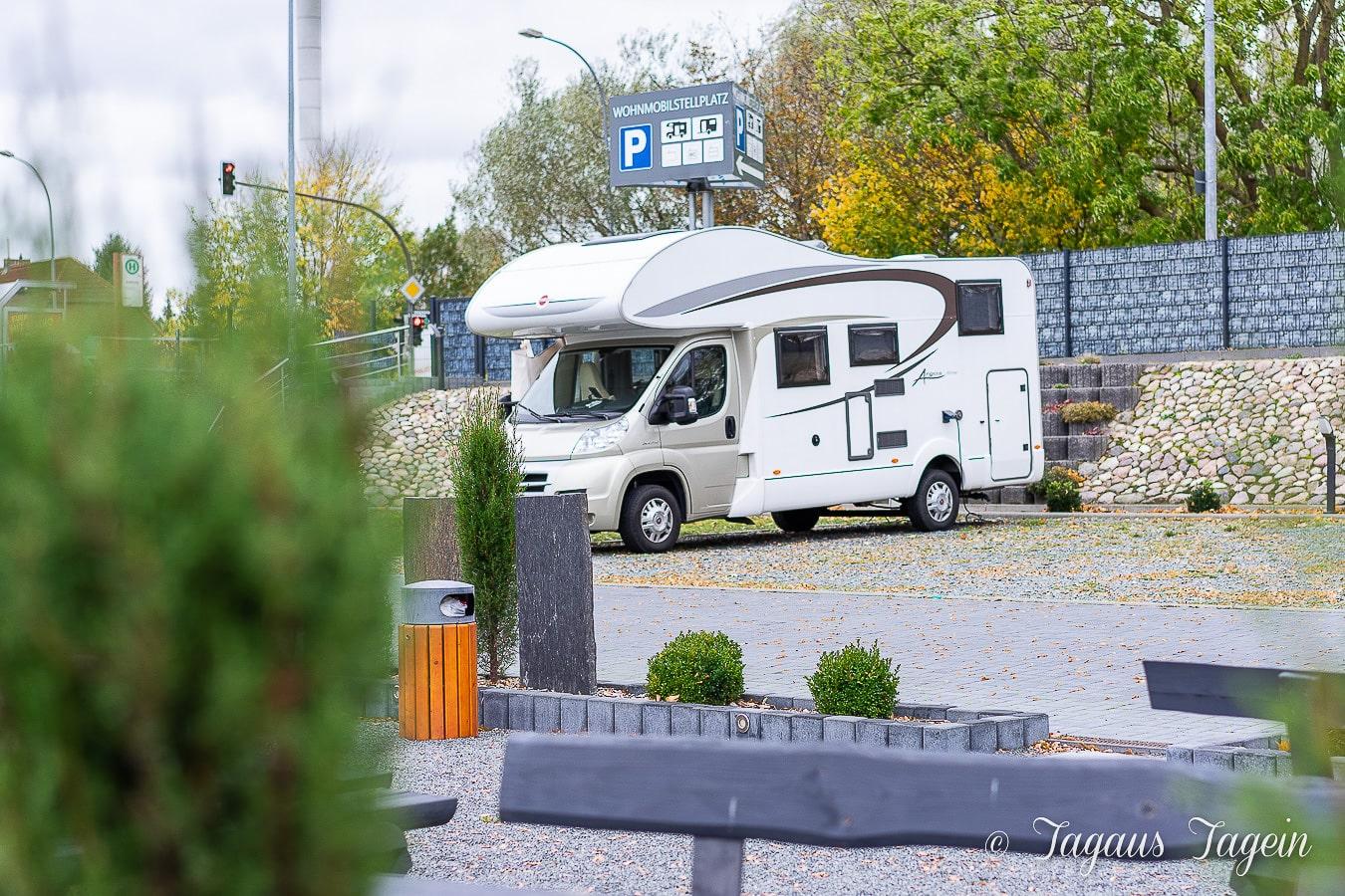 Wohnmobil Stellplatz Stralsund