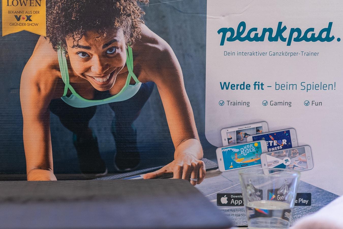 Plankpad - Training für den ganzen Körper