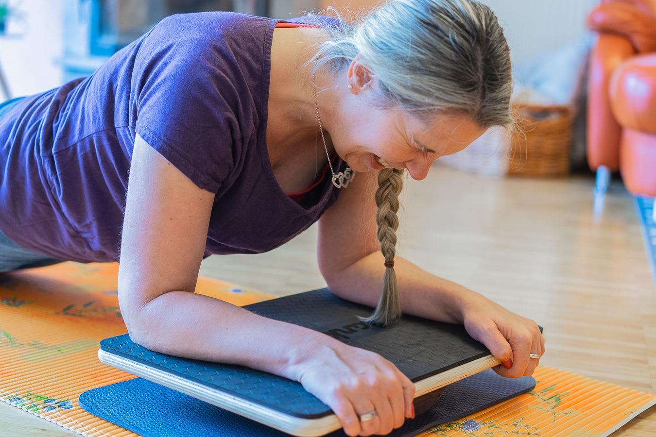 Plankpad - Training für den Rücken