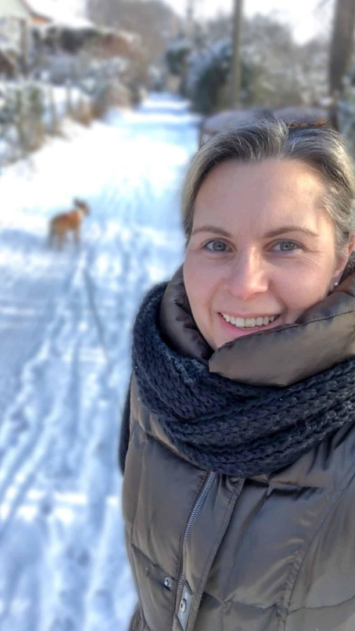 Gassi-Runde im Schnee