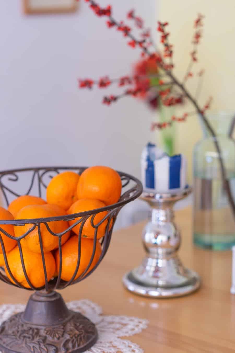 Wochenglück-Rückblick - Mandarinen im Korb