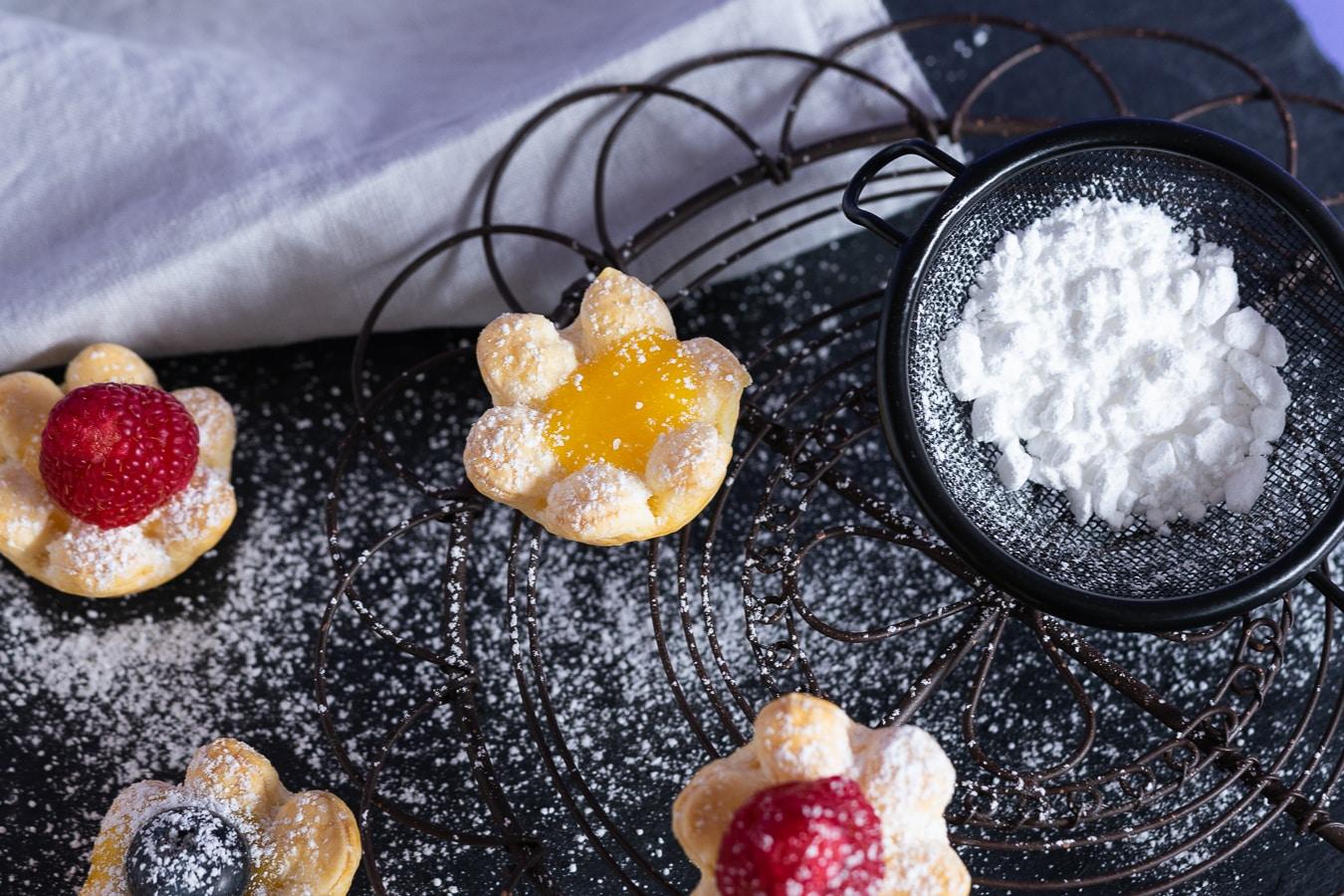 Lemon Curd Törtchen – Was Süßes für den Süßen zum Valentinstag