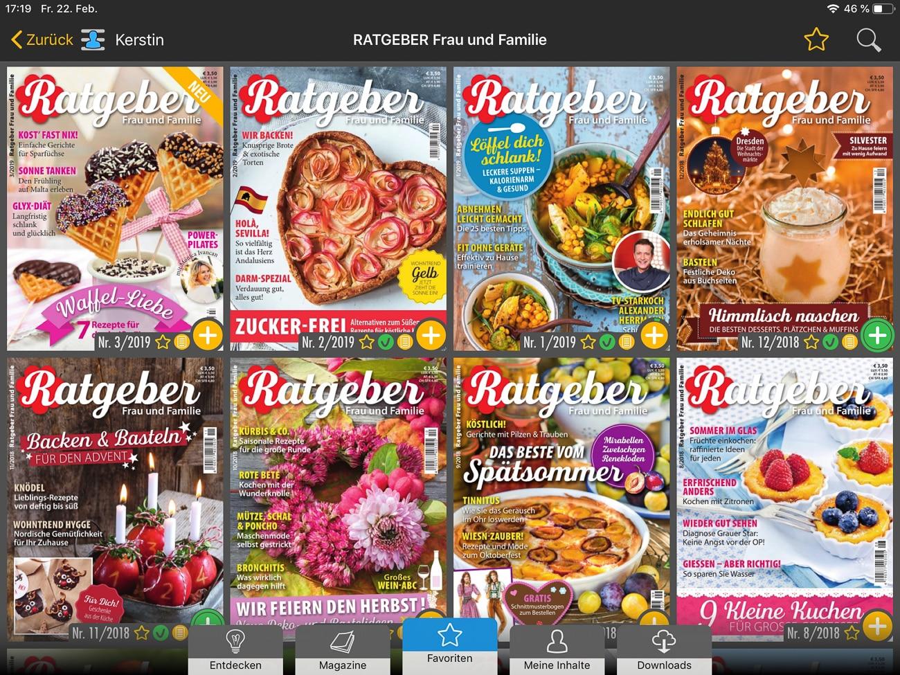 Readly - Magazin-Flatrate für zu Hause und unterwegs