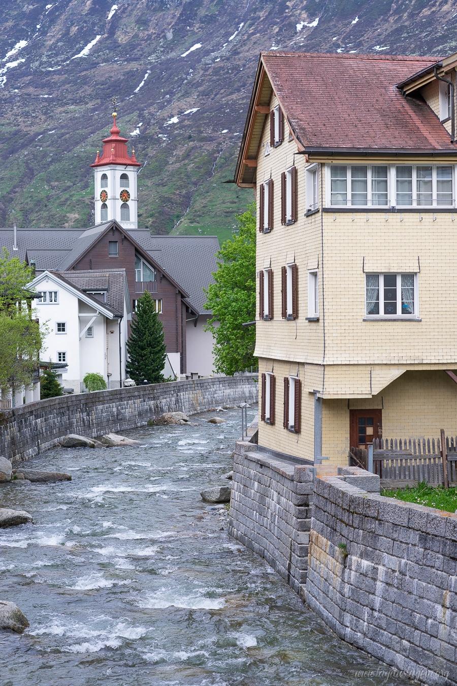 Andermatt Schweiz Wohnmobilstellplatz