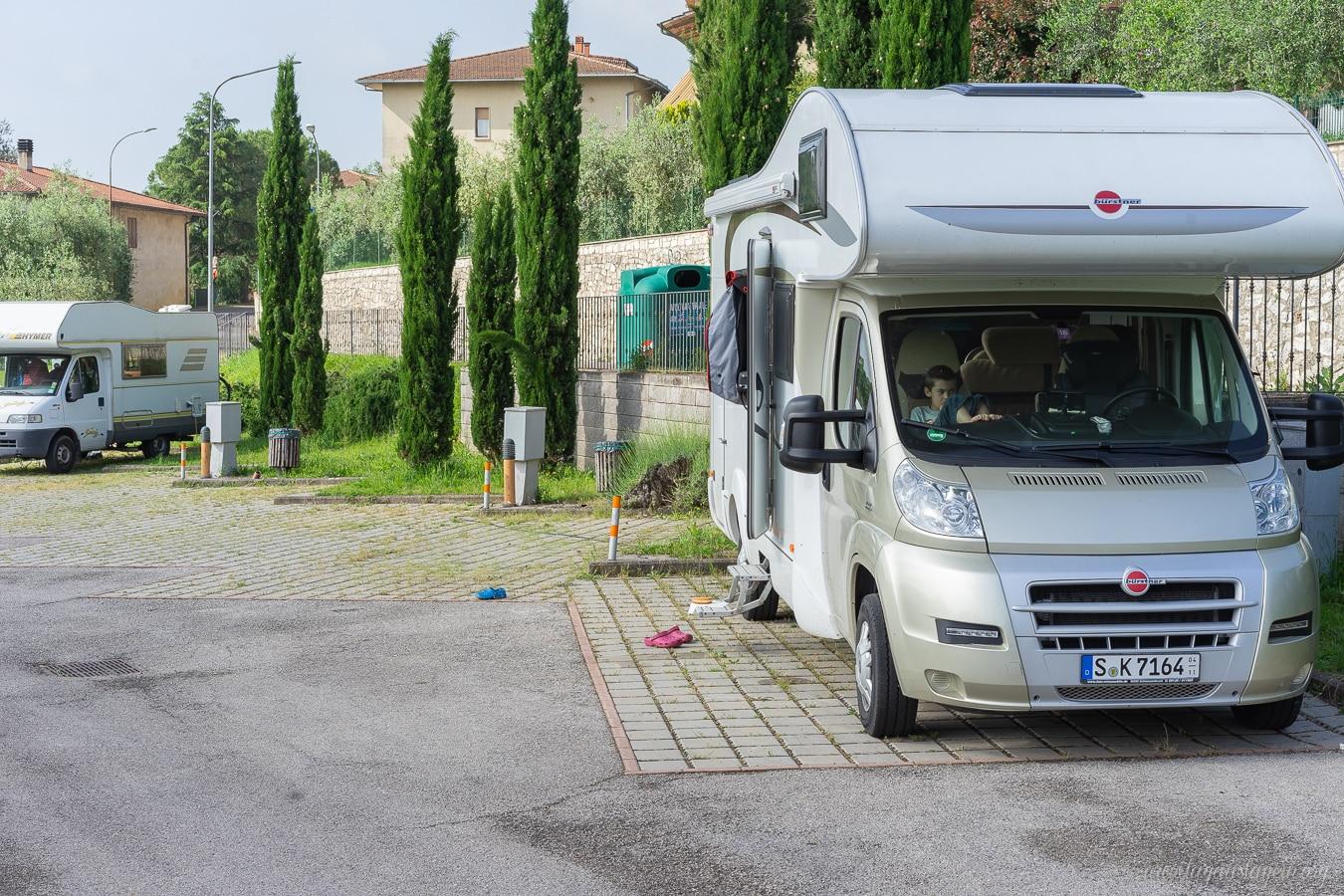 Wohnmobil Reisebericht Toskana Italien