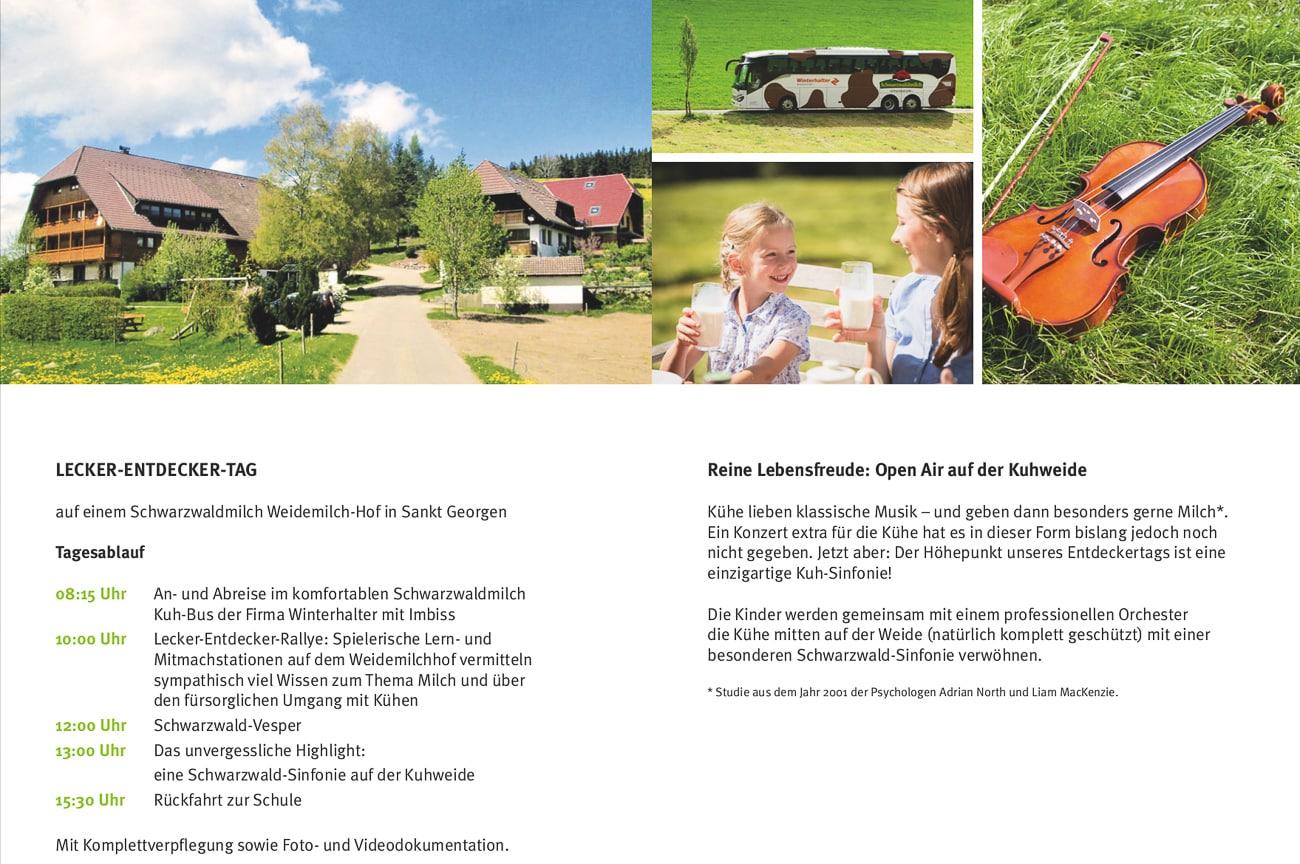 Lecker Entdecker Tag von Schwarzwaldmilch