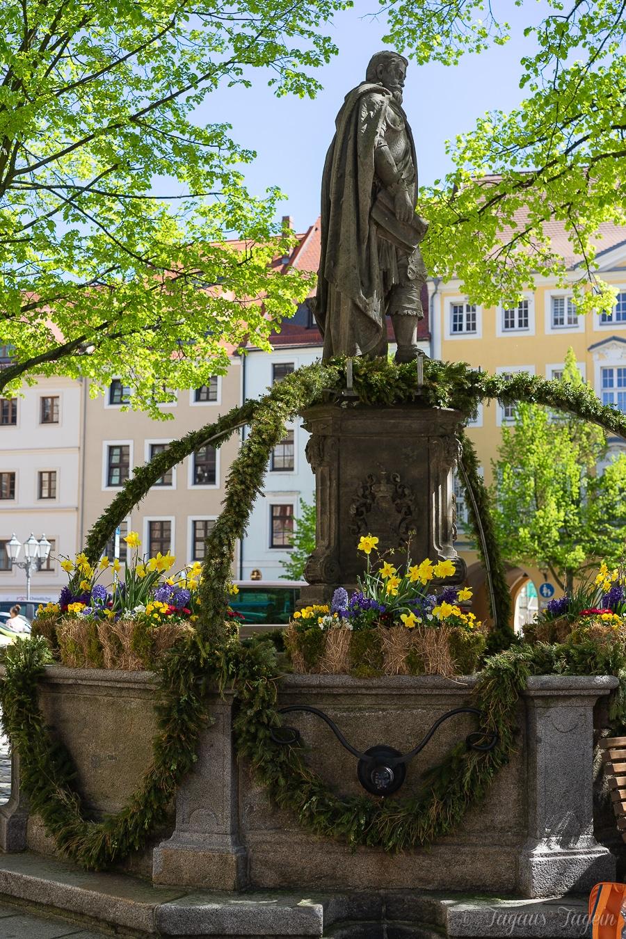 Osterbrunnen in Bautzen