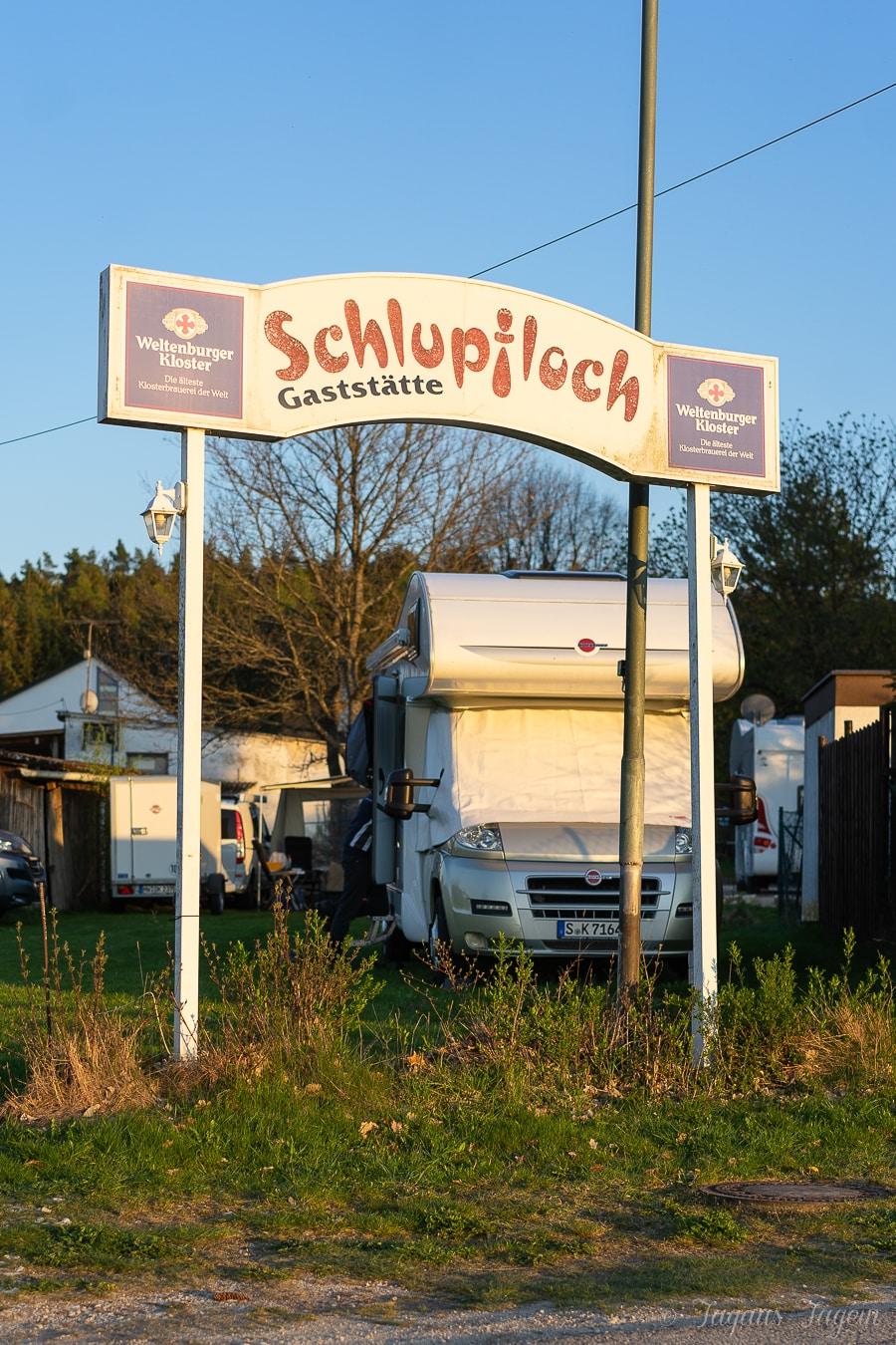 Wohnmobil Stellplatz Schlupfloch Oberpfalz