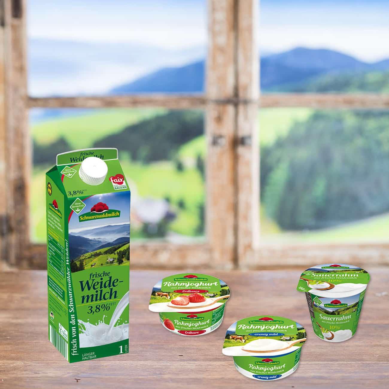 Verlosung Schwarzwaldmilch