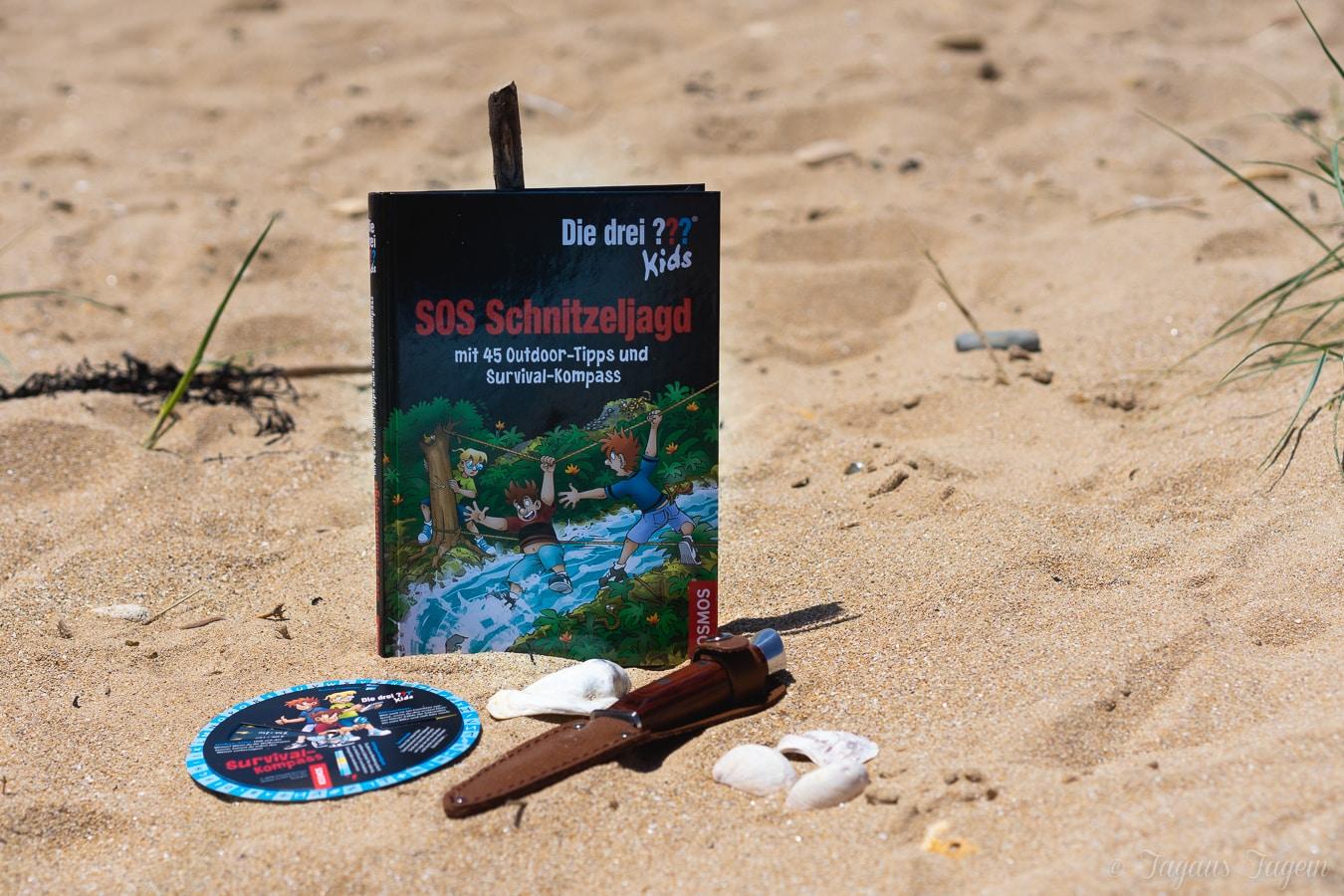 SOS Survival Buch der drei Fragezeichen