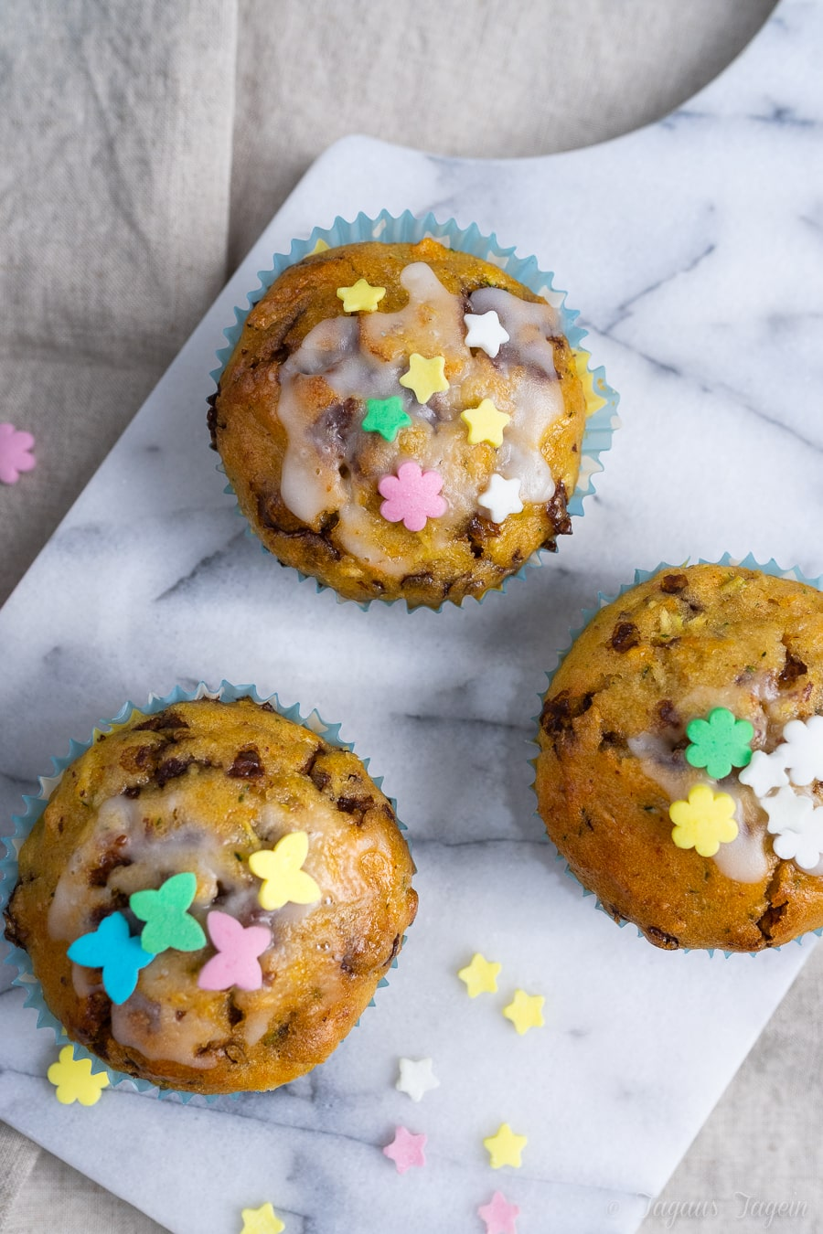 Zucchini Karotten Muffins