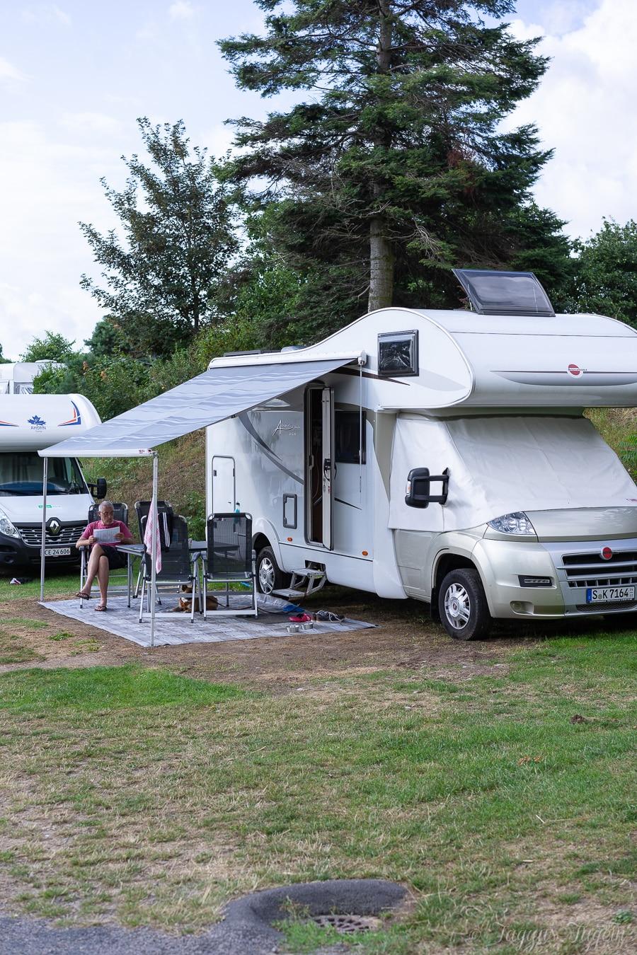 Wohnmobil Bornholm - Sannes Familiencamping