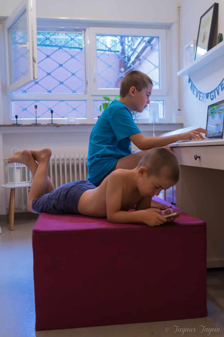 Wie Kinder sitzen - Paleo Cahir