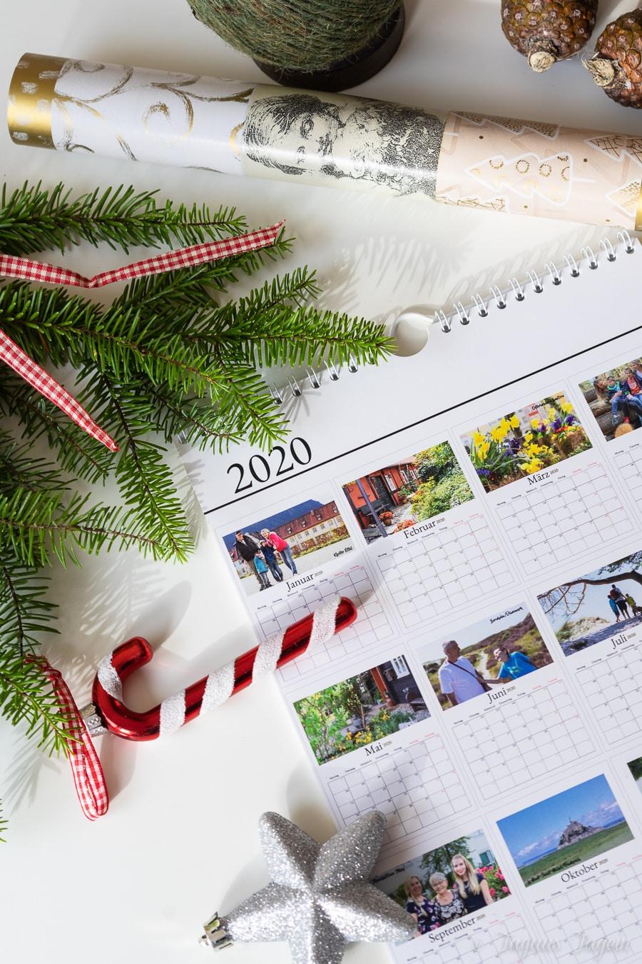 Geschenkideen Großeltern Fotokalender von Sendmoments
