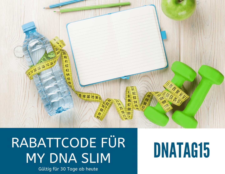 Rabattcode myDNA Slim