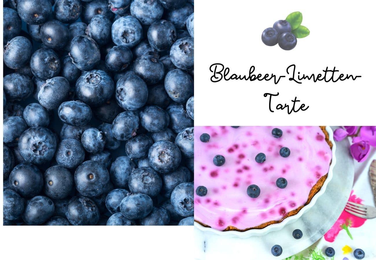 Blaubeer-Limetten-Tarte