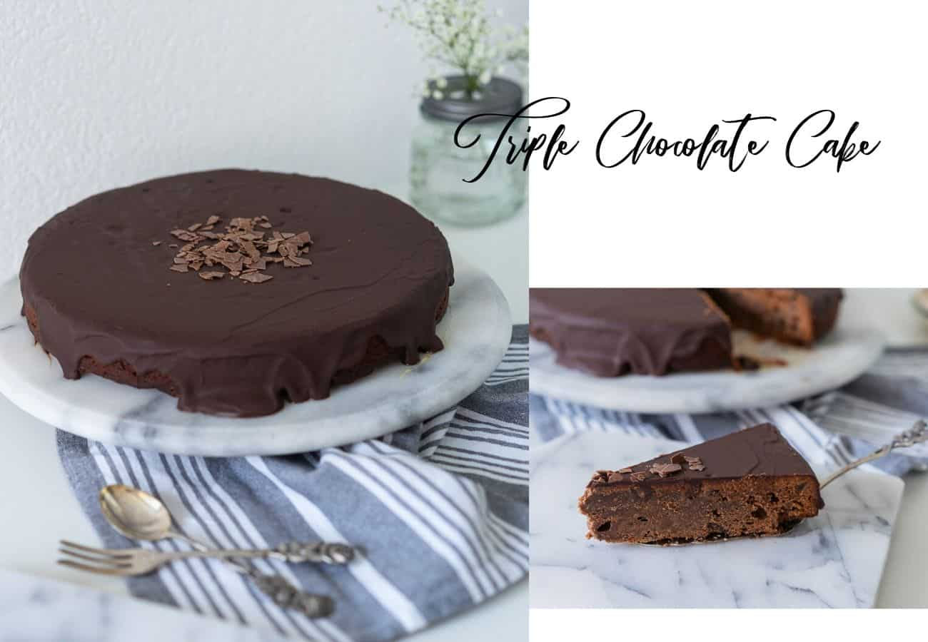 Triple Chocolate Cake - Thermomix®