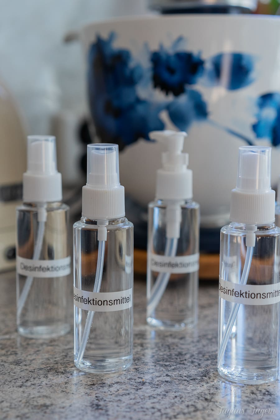 Desinfektionsmittel selber mache - Hände desinfizieren
