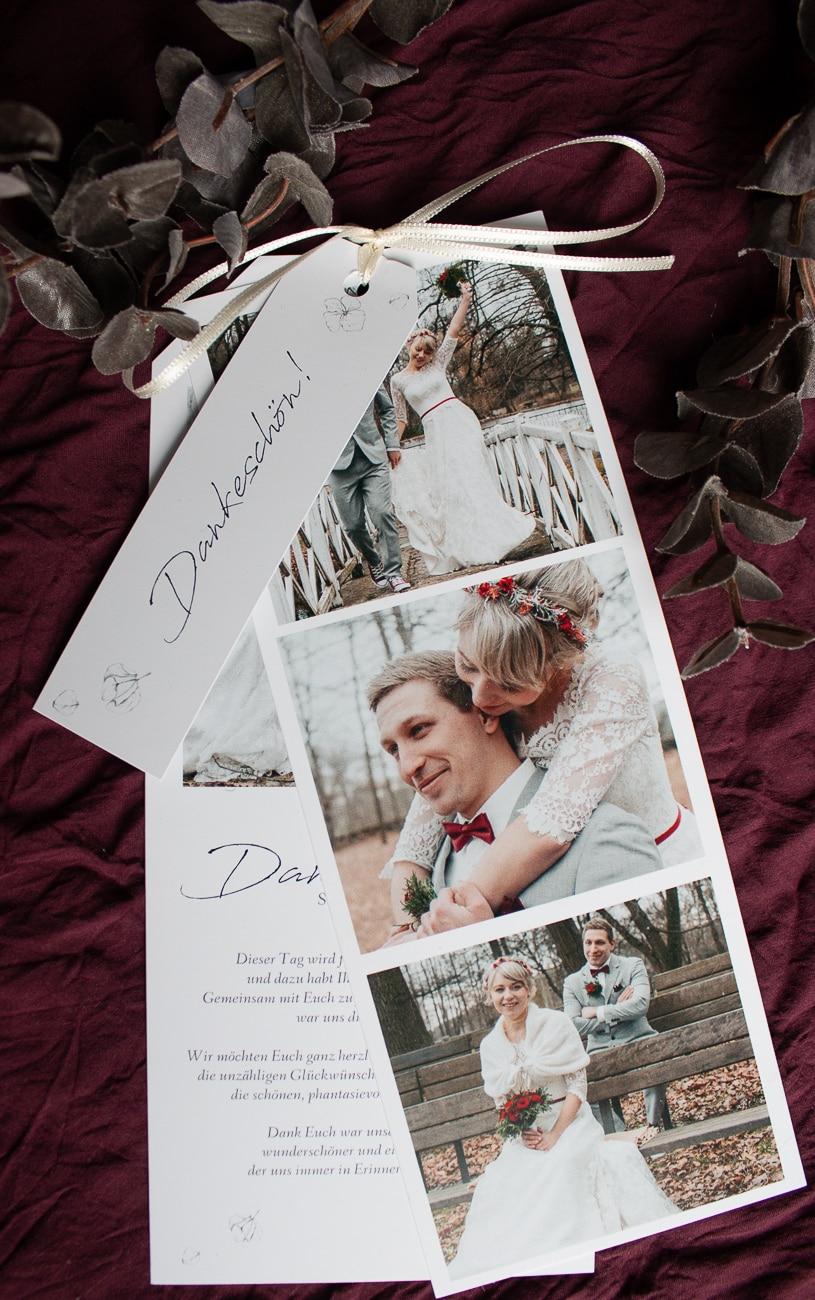 Sendmoments Dankeskarte Hochzeit
