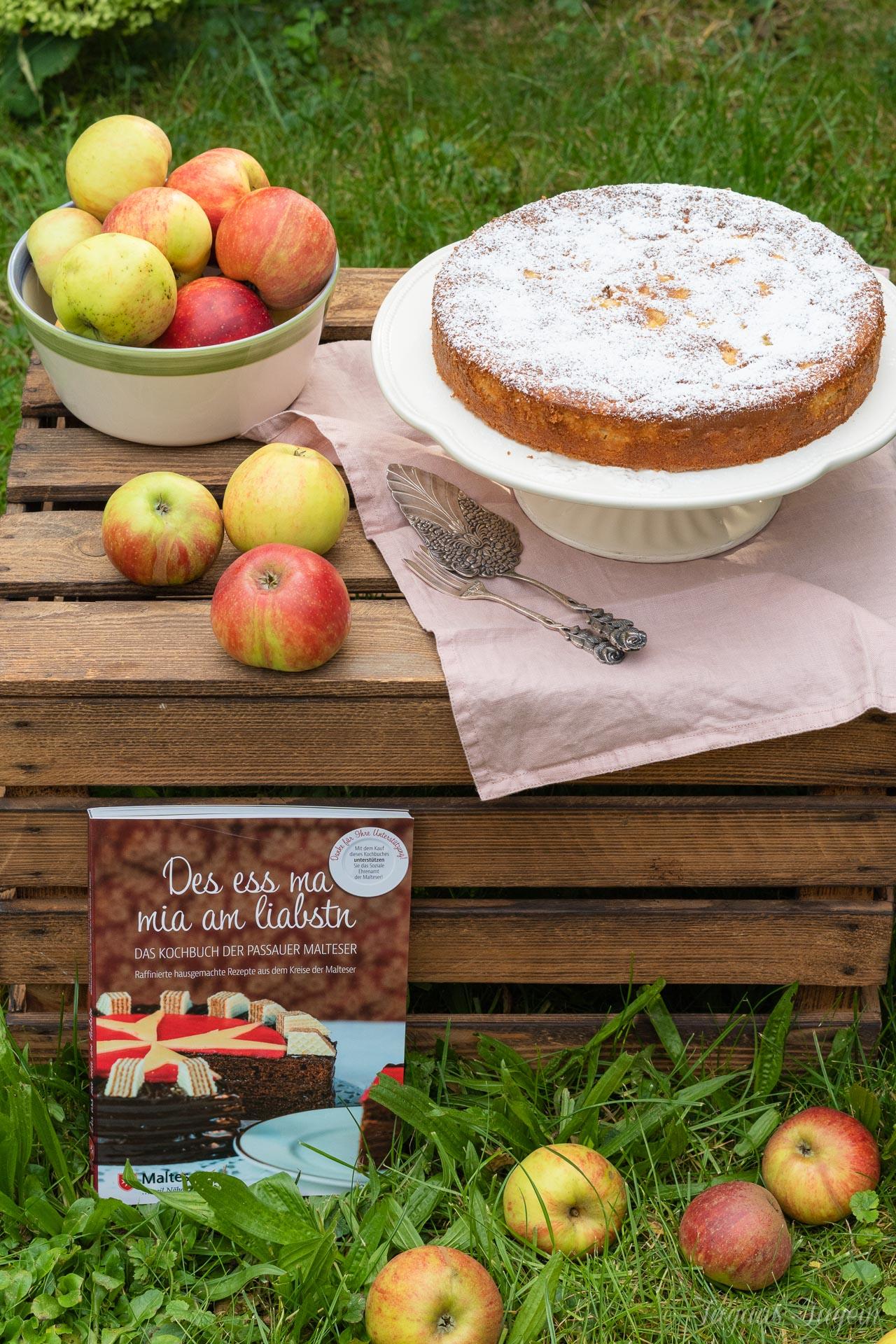 Einfacher Apfelkuchen der Passauer Malteser