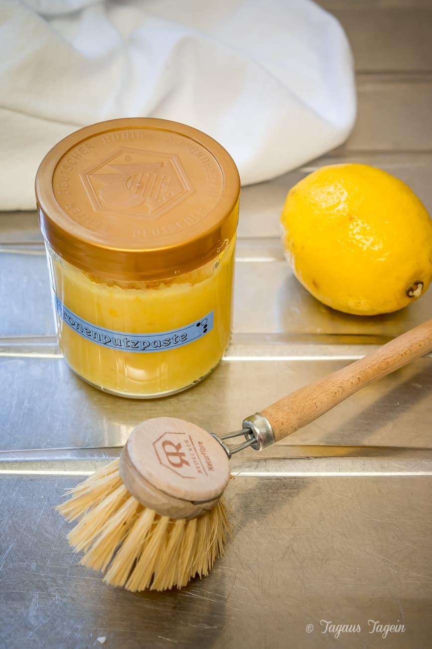 Rezept für Zitronenputzpaste aus dem Thermomix®