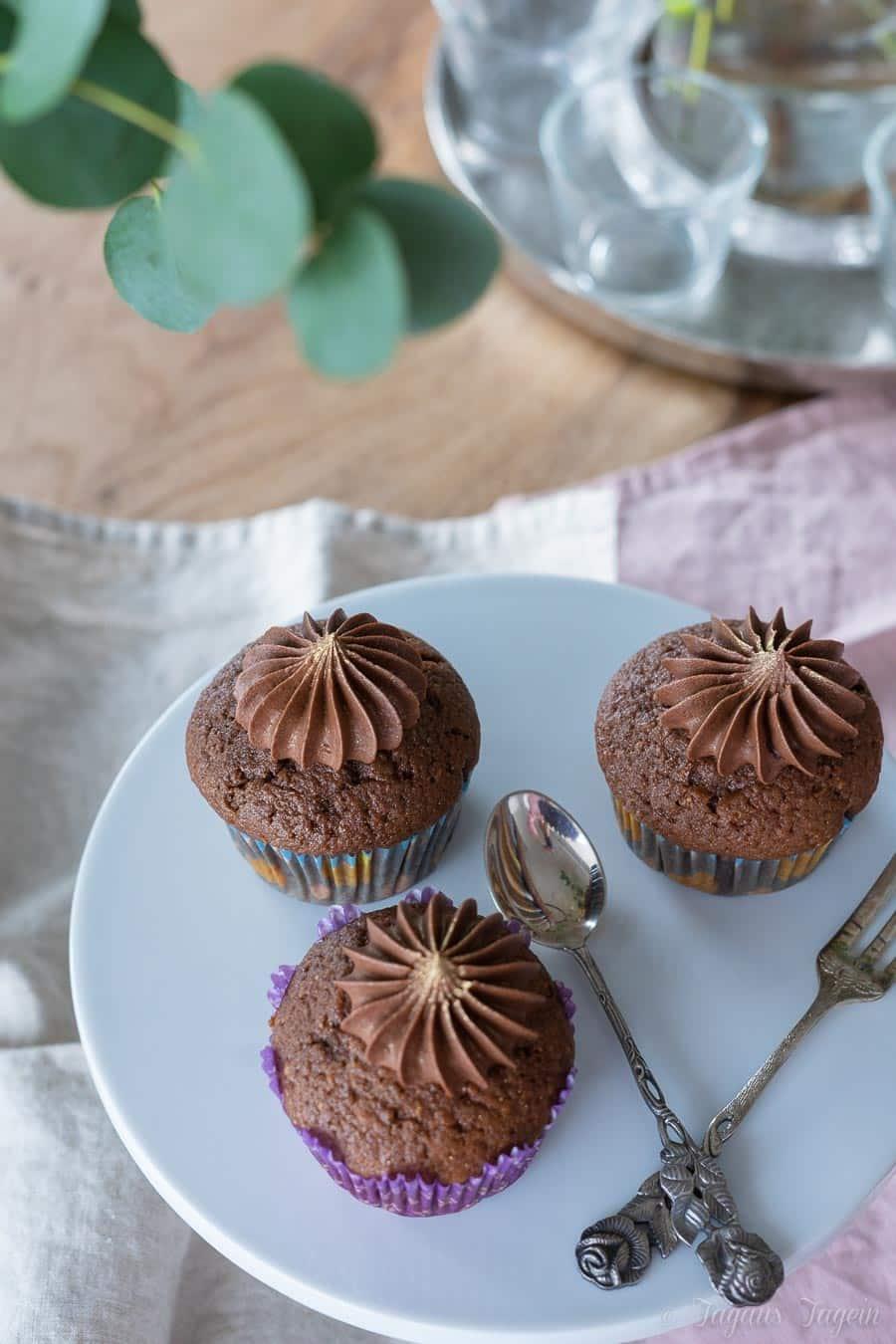 Hanuta Cupcakes oder Hanuta Muffins – wie man es auch nennt, es schmeckt saulecker