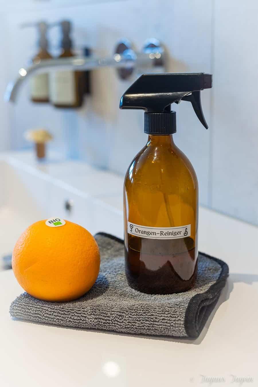 Orangenreiniger selber machen – Nachhaltiges Putzmittel für den Frühjahresputz
