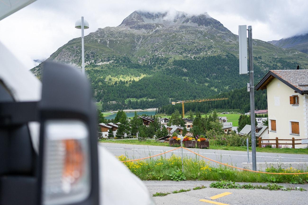 Urlaub Wohnmobil Schweiz-Italien-Silvaplana